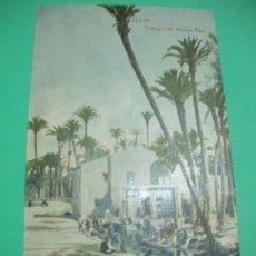 Postales: POSTAL ANTIGUA ORIGINAL DE ELCHE.ACEQUIA DEL MOLINO REAL.THOMAS - BARCELONA-.. Lote 33125966