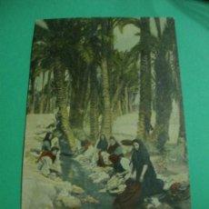 Postales: POSTAL ANTIGUA ORIGINAL DE ELCHE.ACEQUIA CANDALISH.THOMAS - BARCELONA-.. Lote 33125986