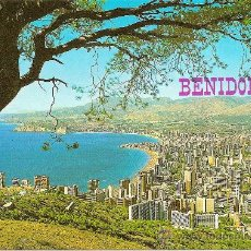 Postales: BENIDORM (ALICANTE), VISTA PANORÁMICA - HNOS. GALIANA Nº 74 - ESCRITA. Lote 33252842