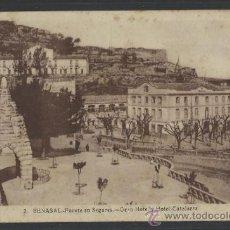 Postales: BENASAL - 2 - FUENTEEN SEGURES . GRAN HOTEL Y HOTEL CALATARRA- (10.967). Lote 33257535