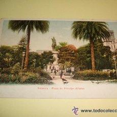 Postales: VALENCIA PLAZA DE PRINCIPE ALFONSO ED. P.Z. Nº 7018. Lote 33389409
