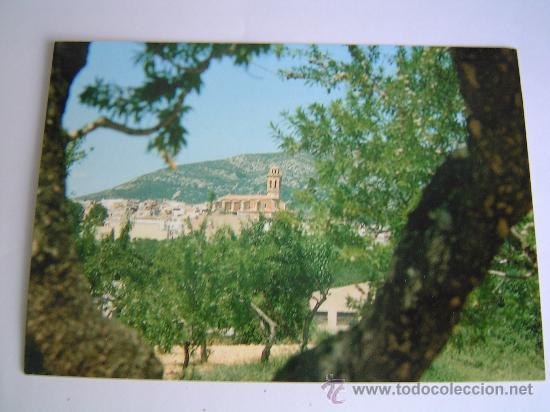 POSTAL DE TRIGUERA.- NORD DE LA VILA AMB L`ESGLESIA PARROQUIAL (Postales - España - Comunidad Valenciana Moderna (desde 1940))