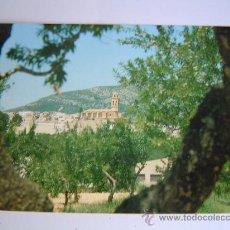 Postales: POSTAL DE TRIGUERA.- NORD DE LA VILA AMB L`ESGLESIA PARROQUIAL. Lote 33471935