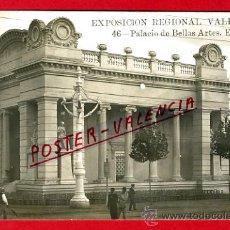 Postales - POSTAL, VALENCIA, EXPOSICION REGIONAL VALENCIANA 1909, PALACIO BELLAS ARTES, FOTOGRAFICA, P71690 - 33497419