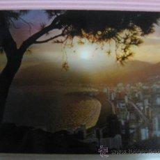 Postales: ALICANTE, BENIDORM,PUESTA DE SOL, CIRCULADA, T1092. Lote 33505389
