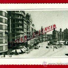 Postales: POSTAL, VALENCIA, PLAZA DEL CAUDILLO, P71776. Lote 33511317