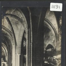 Postales: MORELLA - 25- INTERIOR DE LA IGLESIA ARCIPRESTAL - FOTOGRAFICA ROMAN BELTRAN - (11.131). Lote 33518539