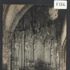 Postales: MORELLA - 26- ORGANO DE LA IGLESIA ARCIPRESTAL - FOTOGRAFICA ROMAN BELTRAN - (11.136). Lote 33518641