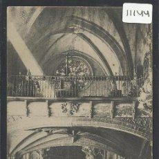 Postales: MORELLA - 6 - CORO DE LA ARCIPRESTAL- - HIJOS DE ROMAN BELTRAN - (11.144). Lote 33518780