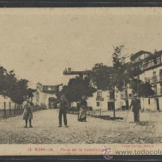 Postales: MORELLA - 12 - PLAZA DE LA CONSTITUCION - ROMAN BELTRAN - (11.149). Lote 33518871