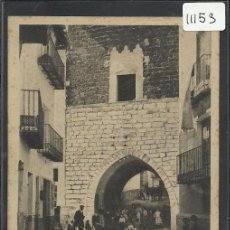 Postales: MORELLA - 11 - CALLE DE SAN JULIAN - ROMAN BELTRAN - (11.153). Lote 33518954