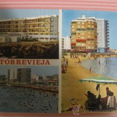 Postales: ALICANTE,TORREVIEJA, DIVERSOS ASPECTOS, CIRCULADA, T1136. Lote 33533206