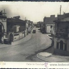 Postales: GRAO (CASTELLÓN).- CALLE DE CANALEJAS. Lote 33534199