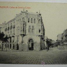 Postales: VALENCIA CALLES DE SORNI Y COLON - PRECIOSA POSTAL - . Lote 33692357