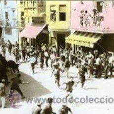 Postales: TORREBLANCA (CASTELLON).- ENTRADA TOROS-FIESTAS DE AGOSTO.- B/N COLOREADA A MANO. FOTOGRÁFICA.. Lote 38322539