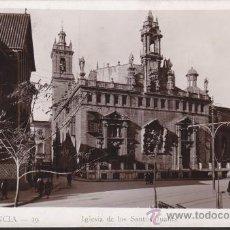 Postales: FOTO POSTAL VALENCIA IGLESIA DE LOS SANTOS JUANES DE VALENCIA, Nº 19 DURA. Lote 34058773