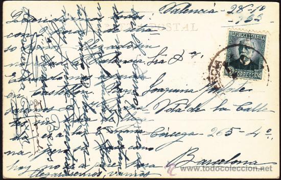 Postales: FOTO POSTAL VALENCIA IGLESIA DE LOS SANTOS JUANES de VALENCIA, Nº 19 DURA - Foto 2 - 34058773
