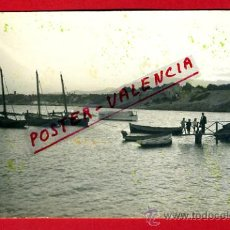 Postales: POSTAL, VILLAJOYOSA, ALICANTE, BARCAS, FOTO, FOTOGRAFICA, P72341. Lote 34124077