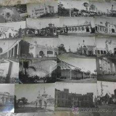 Postales: GRAN COLECCION 51 TARJETAS POSTALES FOTOGRAFICAS DE VALENCIA - EXPOSICION REGIONAL VALENCIANA FOTO. Lote 34237149