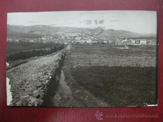 ALBOCACER - VISTA GENERAL - FOTOGRAFICA (Postales - España - Comunidad Valenciana Antigua (hasta 1939))