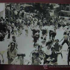 Postales: ALCORA - ENCIERRO TAURINO - FOTOGRAFICA. Lote 34249618