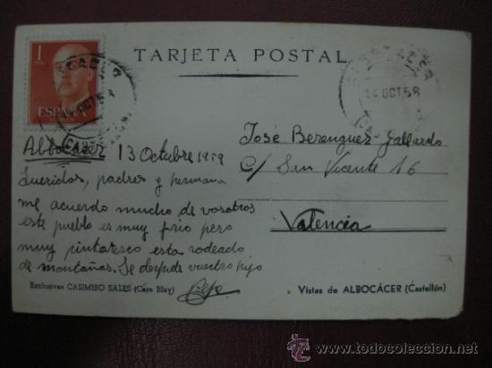 Postales: ALBOCACER - VISTA - FOTOGRAFICA - Foto 2 - 34249711