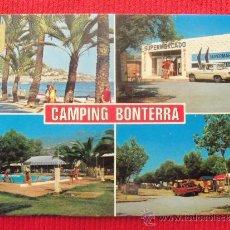 Postales: BENICASIM - CAMPING BONTERRA. Lote 165721316