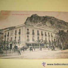 Postales: ALICANTE HOTEL SIMON ANTES IBORRA. Lote 34377249