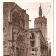 Postales: VALENCIA Nº 111 CATEDRAL EDITA L. ROISIN FOTG. SIN CIRCULAR. Lote 34417798