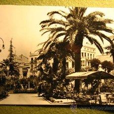 Postales: ANTIGUA POSTAL ALCIRA--PLAZA DEL CAUDILLO. Lote 34484647