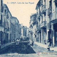 Postales: ONDA. 3.- CALLE DE SAN MIGUEL. THOMAS. EDICIÓN J. CATALÁN. Lote 34498892