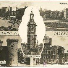 Postales: VALENCIA.-RECUERDO DE VALENCIA.-EDICONES JDP Nº 3 SIN CIRCULAR. Lote 34575908