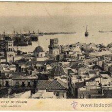 Postales: BONITA POSTAL - ALICANTE - VISTA DE PAJARO - 35 BAZAR PASCUAL LÓPEZ - ALICANTE . Lote 34955457
