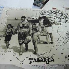 Postales: FOTO GRANDE ANTIGUA DE ALICANTE RECUERDO DE TABARCA . Lote 35064856