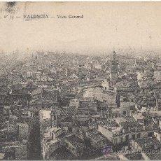 Postales: VALENCIA.- VISTA GENERAL. (C.1905).. Lote 35109971