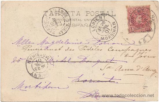 Postales: VALENCIA.- PALACIO DEL MARQUÉS DE DOS AGUAS. (C.1900). - Foto 2 - 35113438
