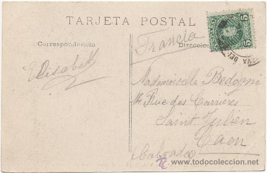 Postales: VALENCIA.- CATEDRAL. PUERTA DE BIZANTINA. (C.1900). - Foto 2 - 35114993