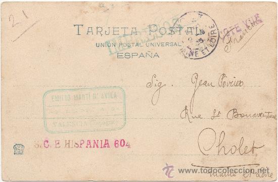 Postales: VALENCIA.- VISTA DESDE EL MIGUELETE. (C.1905). - Foto 2 - 35117478