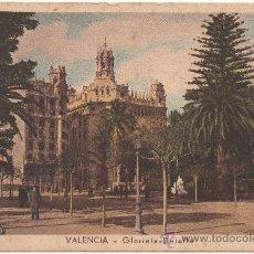 Postales: VALENCIA.- GLORIETA - DETALLE.. Lote 35118863