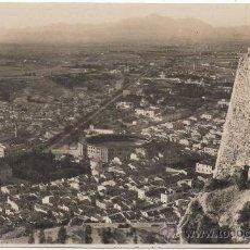 Postales: ALICANTE.- VISTA GENERAL DESDE EL CASTILLO DE SANTA BÁRBARA.. Lote 35119265