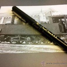 Postales: POSTAL ALCOY ALCOI ALICANTE FERROCARRIL VILLENA ALCOY YECLA LOCOMOTORA 1967. Lote 35204435
