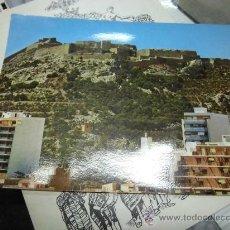 Postales: CASTILLO SANTA BARBARA DE ALICANTE POSTAL ANTIGUA SIN ESCRIBIR. Lote 35464420