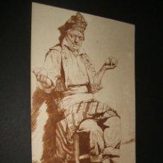 Postales: VALENCIA POSTAL FOTOGRAFICA ANTERIOR A 1905 VENDEDOR DE NARANJAS NARANJERO REVERSO SIN DIVIDIR. Lote 35480732