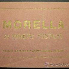 Postales: MORELLA. BLOC COMPLETO DE 20 POSTALES. ED. ROMAN BELTRAN. 8,7 X 14.6 CM. Lote 35504845