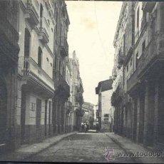 Postales: BURRIANA (CASTELLON)-. CALLE MAYOR. Lote 35773488