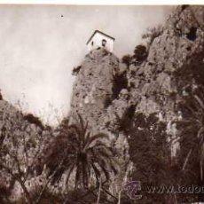 Postales: CASTILLO DE GUADALEST CAMPANARIO L ROISIN FOTÓGRAFO Nº 4 SIN CIRCULAR POSTAL FOTOGRÁFICA. Lote 35809557