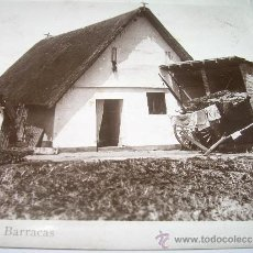 Postales - ANTIGUA POSTAL FOTOGRAFICA.....VALENCIA....BARRACAS.....DURA. - 35836949