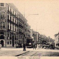 Postales: POSTAL DE VALENCIA, CALLE DE COLON NO CIRCULADA. Lote 35909598