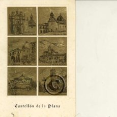 Postales: POSTAL TRIPTICO DE CASTELLON. Lote 36015511