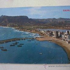 Postales: POSTAL DE CALPE (ALICANTE) -Nº29- VISTA GENERAL (HMNOS GALIANA, SIN CIRCULAR, AÑOS 70 APROX). Lote 36038190
